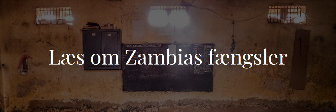 Zambian prisons are no worse than the average Sub Saharan African prison. In fact in some ways better, levels of torture being quite low. The current command of Zambia Correctional Service is known to be modern and supportive of outside help.